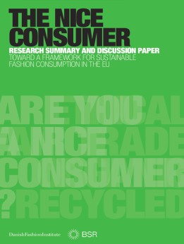 The Nice Consumer Report Toward A Fremework For Sustainable Fashioon Consumption