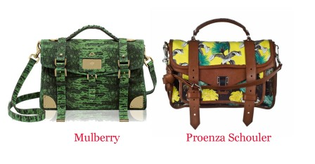 Who Copied Who? Mulberry vs. Proenza Schouler