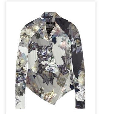 Aminkata Wilmont Printed Stretch Cotton Jacket Spring 2012