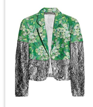 Creatures Of The Wind Printed Jacket Spring 2012