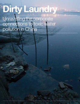 Dirty Laundry Greenpeace Report Toxic Water Pollution In China