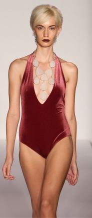 Elizabeth Kosich Swimwear Designer Edna Velvet Bathingsuit