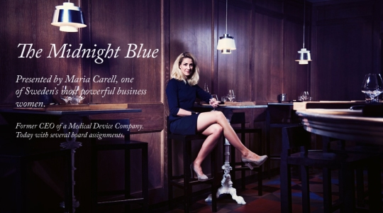 Elsa And Me Midnight Blue Dress Maria Carell