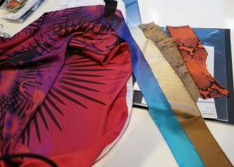 Elizabeth Kosich Swimwear Designer Spring Summer 2013 Fabrics