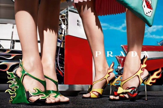 Prada Spring 2012 Ad Campaign Shoes
