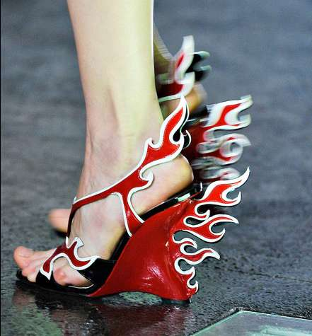Prada Spring 2012 Shoes Red Hot Wheels