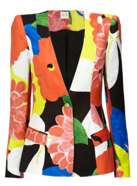 Sass And Bide Strong Foundations Art Deco Floral Jacket Spring 2012