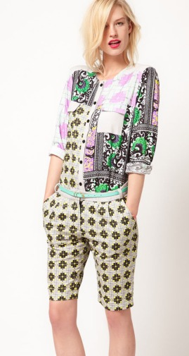 Asos Africa Spring Summer 2012 Shorts In Small Geo Print
