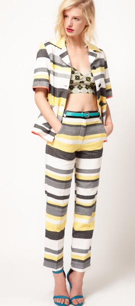 Asos Africa Spring Summer 2012 Stripe Trousers