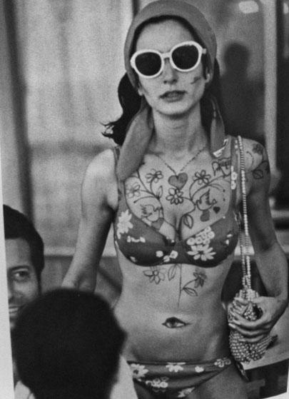Daisy Bikini Spanish Model Socialite Nati Abascal 1968