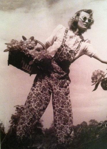 Floral Jumper 1941