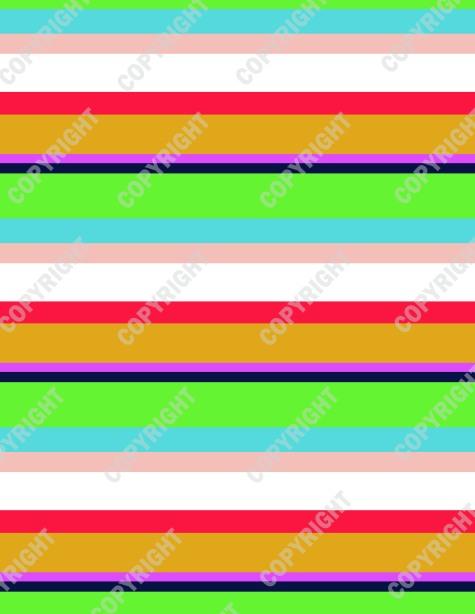 Juicy Stripe Print