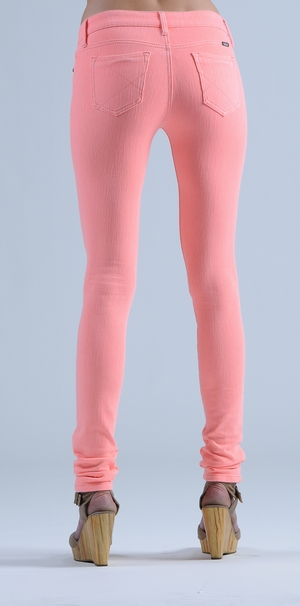 Reuse Jeans Light Pink Skinny Jeans