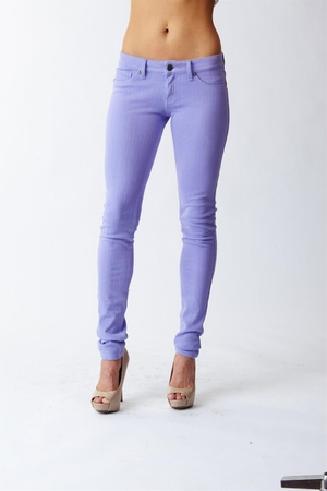 Reuse Jeans Purple Skinny Recycled Denim