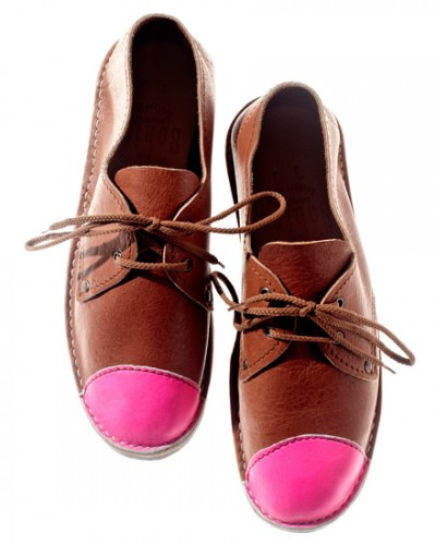 Schier Shoes Erongo Toe Cap Neon Pink