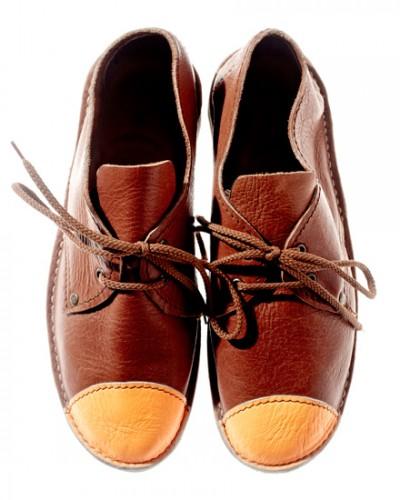 Schier Shoes Erongo Toe Cap Orange