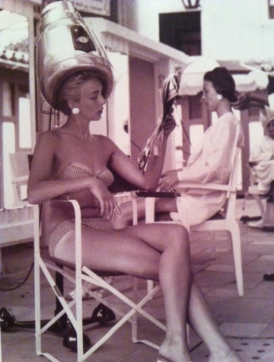 Bathing Suits Through The Decades 1955 Cote D'Azur France