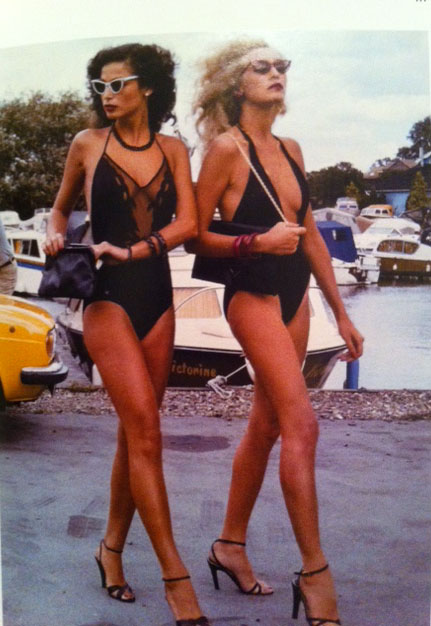 Bathing Suits Through The Decades 1979