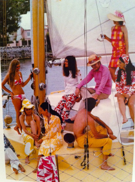 Bathing Suits Through The Decades Bermuda 1970