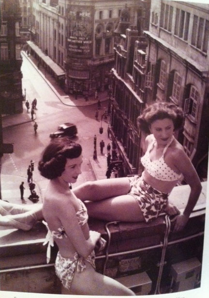 Bathing Suits Through The Decades London 1953