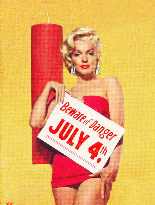 Marylin Monroe 4th Of July