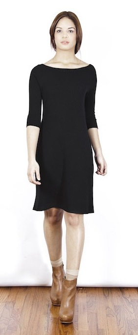 Natalia Allen Essentialist 3_4 Sleeve Seamless Dress