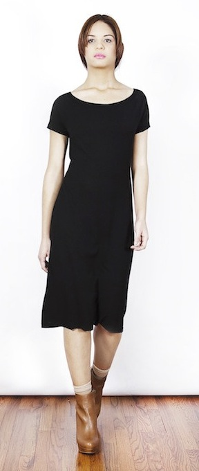 Natalia Allen Essentialist Short Sleeve Seamless Dress