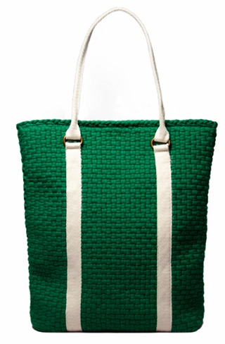 Rags 2 Riches Green Tote