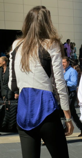 New York Fashion Week Spring 2013 Street Style-Cobalt-Blue