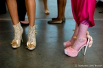 Nolcha New York Fashion Week Backstage Photos Killer Shoes