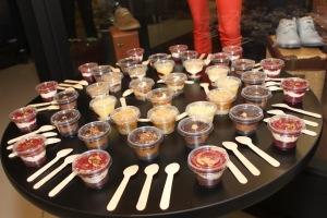 Cat Footwear Launch Desserts