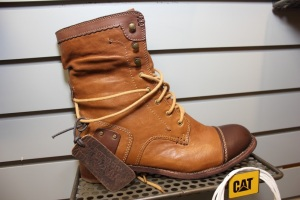 Cat Footwear Launch Party Marin Boot