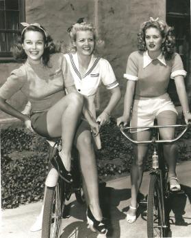 Ladies On Bikes Vintage