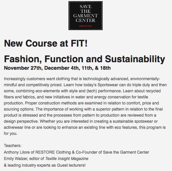Fashion Function Sustainability