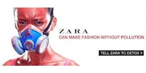 Toxic Fashion Greenpeace Zara Campaign