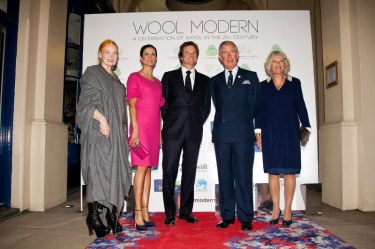 Vivienne Westwood Livia Firth Colin Firth His Royal Highness The Prince of Wales Her Royal Highness The Duchess of Cornwall