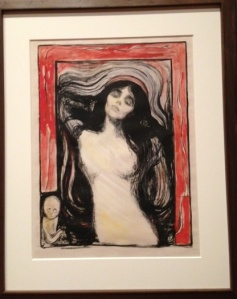 Edvard Munch Madonna 1894-1895