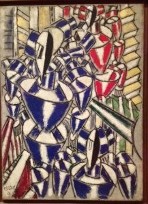 Fernand Leger Exit The Ballets Russes 1914