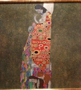Gustav Klimt Hope II 1907-1908