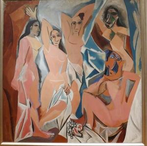 Pablo Picasso Demoiselles D'avignon 1907