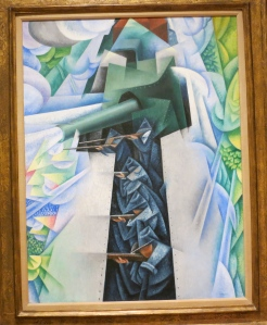 Gino Severini Armored Train In Action 1915