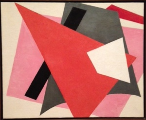 Lyubov Popova Painterly Architectonic 1917