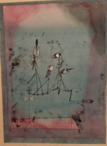 Paul Klee Twittering Machine 1922