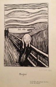 The Scream Edvard Munch 1896