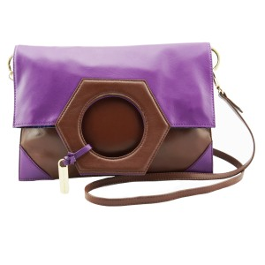 Bundshop Mary H Grape Brown Back Folded