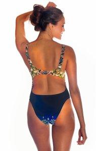 Curlee Bikini Monokini Back