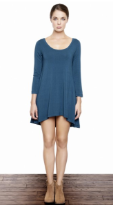 Amour Vert Charlotte High Low Tunic