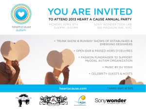Heart A Cause Invite
