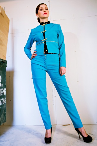 Priti By Design Turquoise Suit