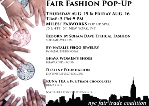 Fair Trade Pop Up Shop